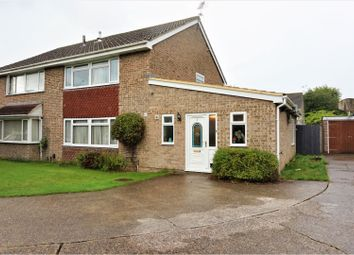 Thumbnail 4 bed semi-detached house for sale in Petworth Gardens, Eastleigh