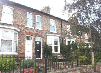 Thumbnail 3 bed terraced house for sale in The Village, Strensall, York