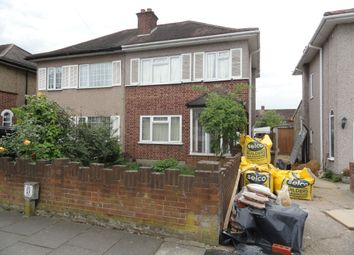 Thumbnail 3 bed semi-detached house to rent in Kingshill Avenue, Northolt, Middlesex