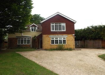 Thumbnail 4 bed detached house to rent in Braishfield Road, Braishfield, Romsey