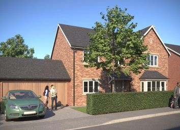 Thumbnail 4 bed detached house for sale in Weston Fields, Morda, Oswestry