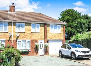 Thumbnail 4 bed end terrace house for sale in Elm Walk, Royston
