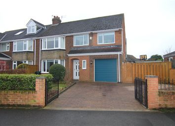 Thumbnail 4 bed semi-detached house for sale in Redhills Lane, Durham, Durham