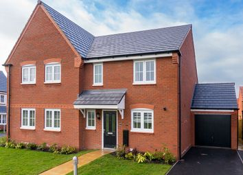 Thumbnail 3 bedroom semi-detached house to rent in Meadowbout Way, Bowbrook, Shrewsbury