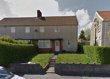 Thumbnail 3 bedroom semi-detached house for sale in Crwys Terrace, Penlan
