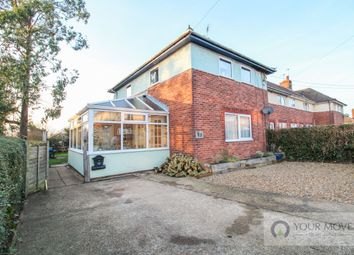 Thumbnail 3 bed semi-detached house for sale in Mount Pleasant, Halesworth