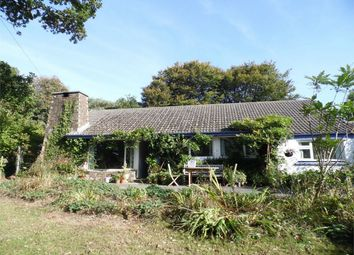 Thumbnail 5 bed detached bungalow to rent in Lankelly Lane, Fowey, Cornwall