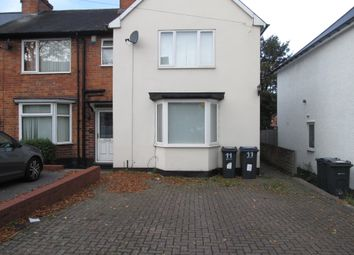 Thumbnail 2 bed end terrace house to rent in Springcroft Road, Tyseley, Birmingham