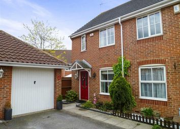 Thumbnail 2 bed semi-detached house for sale in Anglesey Gardens, Wickford, Essex