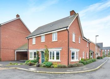 Thumbnail 4 bed detached house for sale in Anglesey View, Newton Leys, Bletchley, Milton Keynes