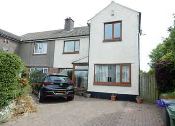 Thumbnail 3 bed semi-detached house for sale in Causeway Road, Seaton, Workington