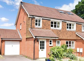 Thumbnail 3 bed semi-detached house for sale in Northend Close, Petworth, West Sussex