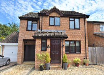 Thumbnail 4 bed detached house for sale in Blenheim Gardens, Grove, Wantage