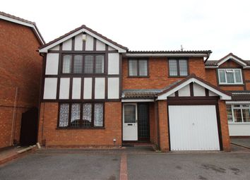 Thumbnail 4 bedroom detached house for sale in Willowherb Close, Sinfin, Derby