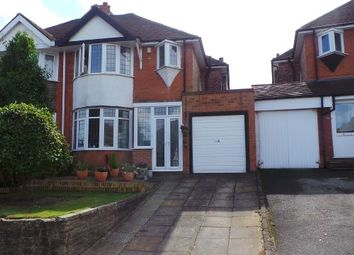 Thumbnail 3 bed semi-detached house for sale in Welwyndale Road, Sutton Coldfield