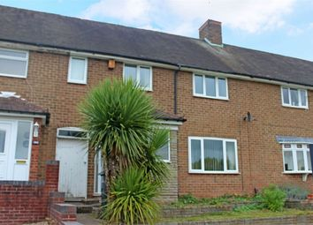 Thumbnail 3 bed terraced house for sale in Chadwick Road, Sutton Coldfield, West Midlands