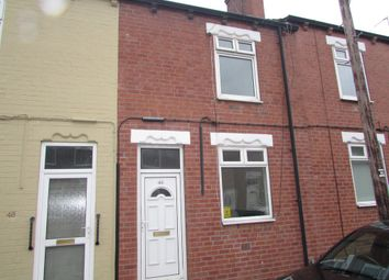 Thumbnail 2 bed terraced house to rent in Grafton Street, Glasshoughton, Castleford