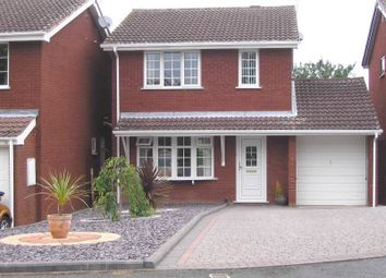 Thumbnail 3 bed detached house to rent in Stokesay Avenue, Perton, Wolverhampton