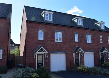 Thumbnail 3 bed town house for sale in Lewisham Drive, Church Gresley, Swadlincote