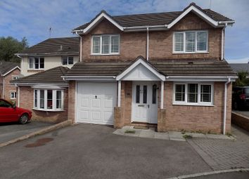 Thumbnail 4 bed detached house for sale in Maes Yr Eirlys, Broadlands, Bridgend.