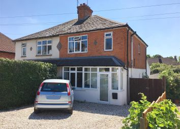 Thumbnail 3 bedroom semi-detached house for sale in Craven Road, Newbury