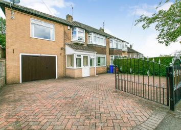 Thumbnail 5 bed semi-detached house for sale in Wollaton Road, Bradway, Sheffield