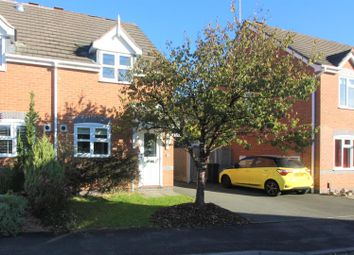 Thumbnail 2 bedroom semi-detached house for sale in Hackett Close, Ashby-De-La-Zouch