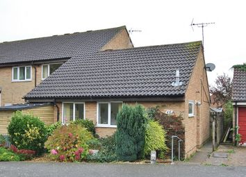 Thumbnail 1 bed terraced bungalow for sale in Edinburgh Drive, St. Ives, Huntingdon