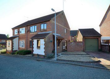 Thumbnail 3 bedroom semi-detached house for sale in Paddock Close, Fakenham, Norfolk.