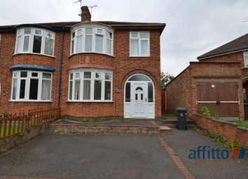 Thumbnail 3 bed semi-detached house for sale in Aylestone Road, Aylestone, Leicester