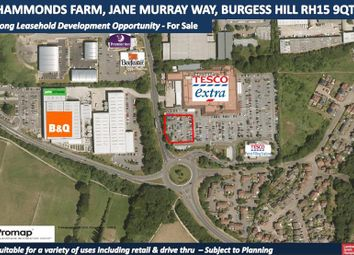 Thumbnail Commercial property for sale in Land At Hammonds Farm, Jane Murray Way, Burgess Hill