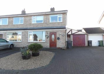 Thumbnail 3 bed semi-detached house for sale in Buckingham Drive, Loughborough, Leicestershire