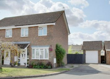 Thumbnail 3 bed semi-detached house for sale in Bede Drive, Charlton, Andover