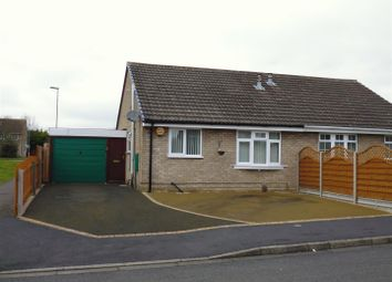 Thumbnail 2 bed semi-detached bungalow for sale in Montaigne Close, Lincoln