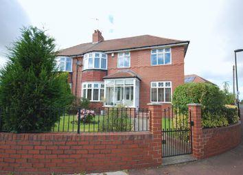 Thumbnail 4 bed semi-detached house for sale in Kenton Lane, Kenton, Newcastle Upon Tyne