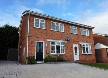 Thumbnail 2 bed semi-detached house for sale in Elizabeth Avenue, Bridgnorth