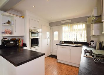 Thumbnail 2 bed terraced house for sale in Sandhurst Avenue, Woodingdean, Brighton, East Sussex