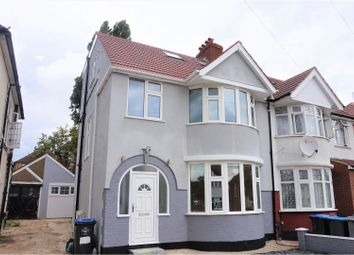 Thumbnail 4 bed semi-detached house for sale in Deanscroft Avenue, Kingsbury