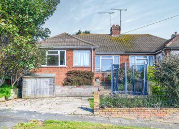 Thumbnail 3 bedroom semi-detached bungalow for sale in Brambletyne Avenue, Saltdean, Brighton