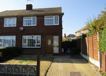 Thumbnail 3 bed semi-detached house to rent in Crown Road, Clacton-On-Sea