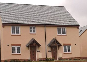 Thumbnail 3 bed semi-detached house for sale in Plot 1, Seaward Park, Clyst St George, Devon