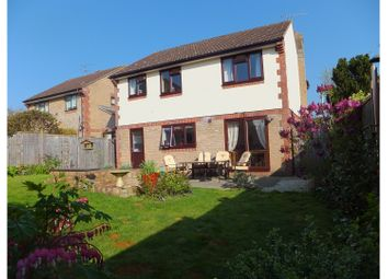 Thumbnail 4 bed detached house for sale in Gillards Close, Wellington