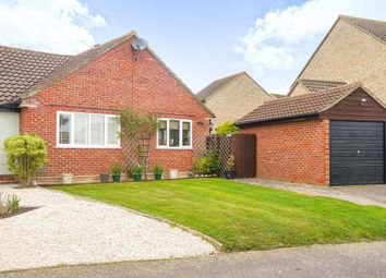 Thumbnail 2 bed semi-detached bungalow for sale in Glemsford, Sudbury, Suffolk