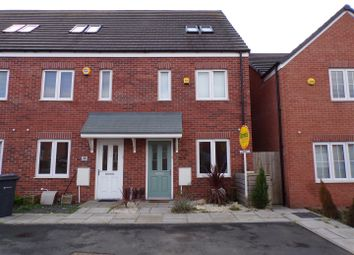 Thumbnail 3 bed town house for sale in Culey Green Way, Sheldon, Birmingham