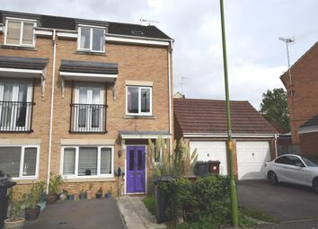 Thumbnail 4 bed town house for sale in Coleridge Way, Elstree, Borehamwood