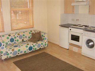 Thumbnail 1 bed flat to rent in Walm Lane, London