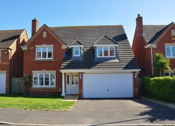 Thumbnail 4 bed detached house for sale in St. Swithin Way, Andover