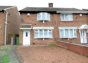 2 bed semi-detached house for sale in Gairloch Road, Sunderland SR4