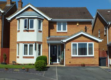 4 bed detached house for sale in Gibbs Leaze, Paxcroft Mead, Trowbridge, Wiltshire. BA14