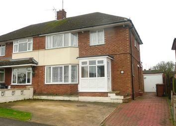 Thumbnail 3 bed semi-detached house to rent in Ridgeway, Wellingborough
